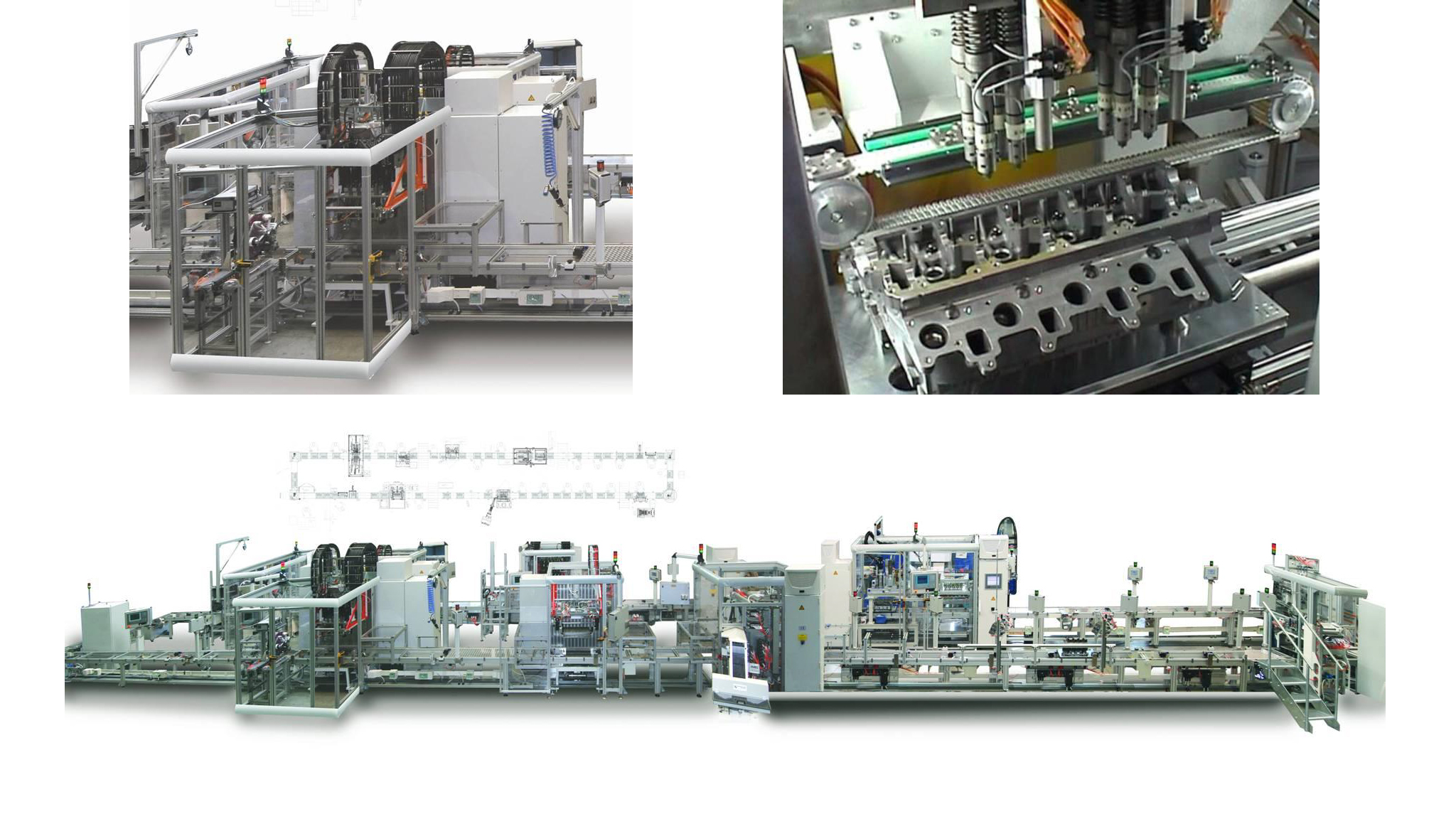 Cylinder head assembly systems