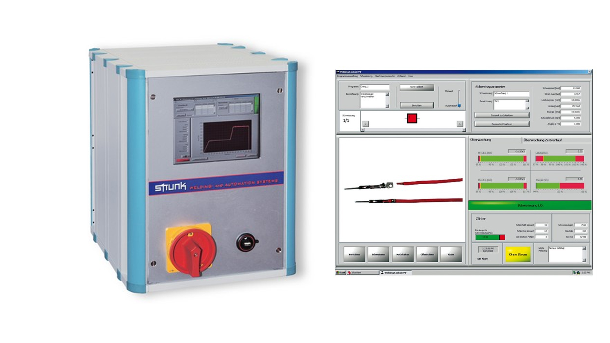 Compact inverter power source