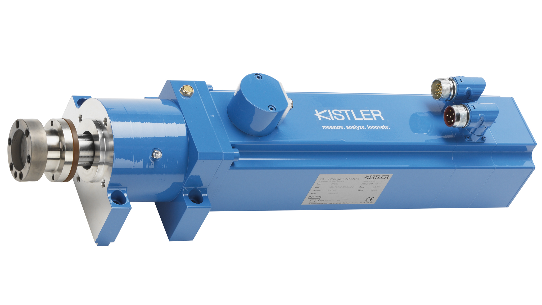 Compact NC joining module NCFH with hollow shaft motor