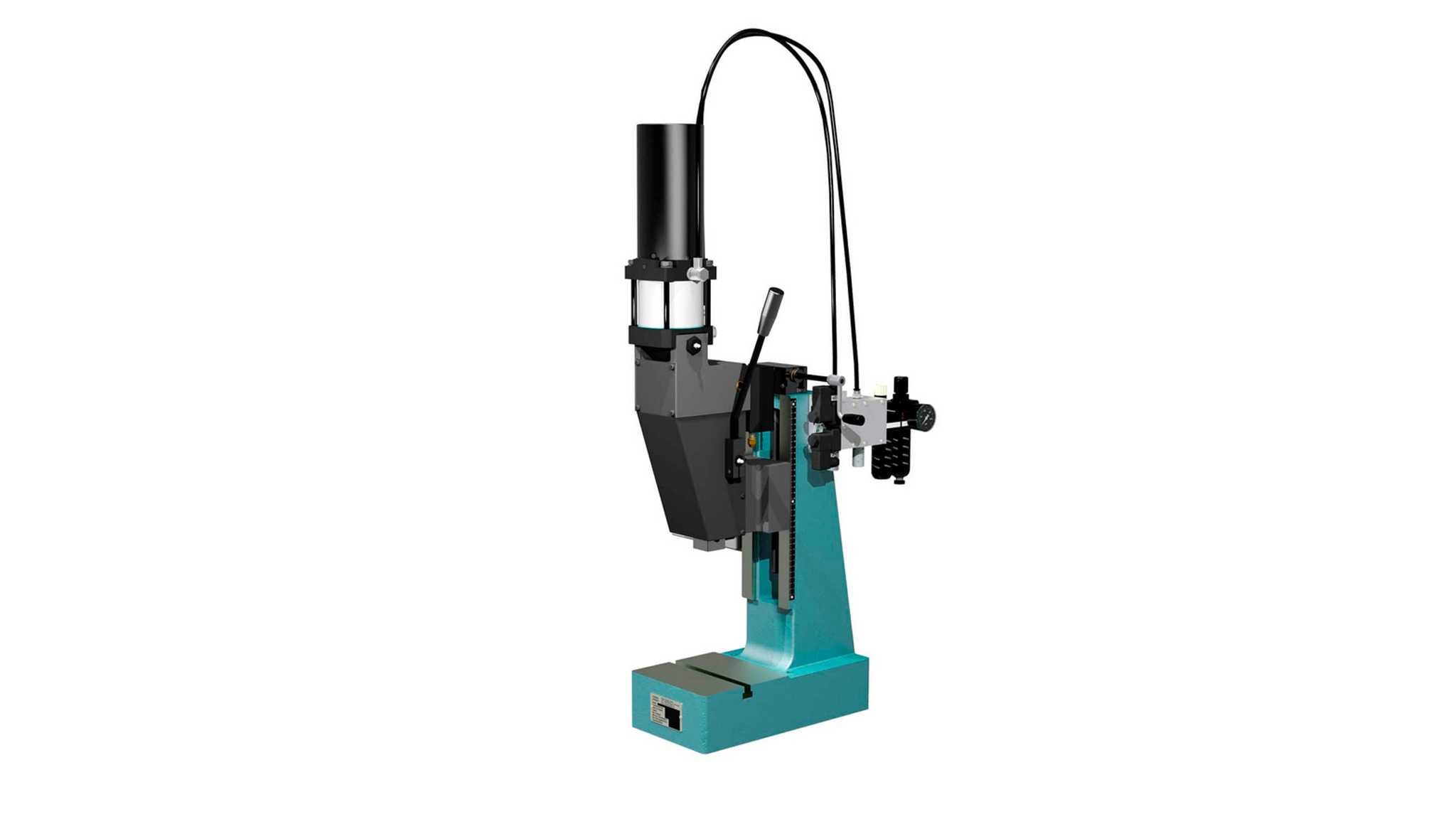 Hand-operated toggel presses with compressed air support NP4000