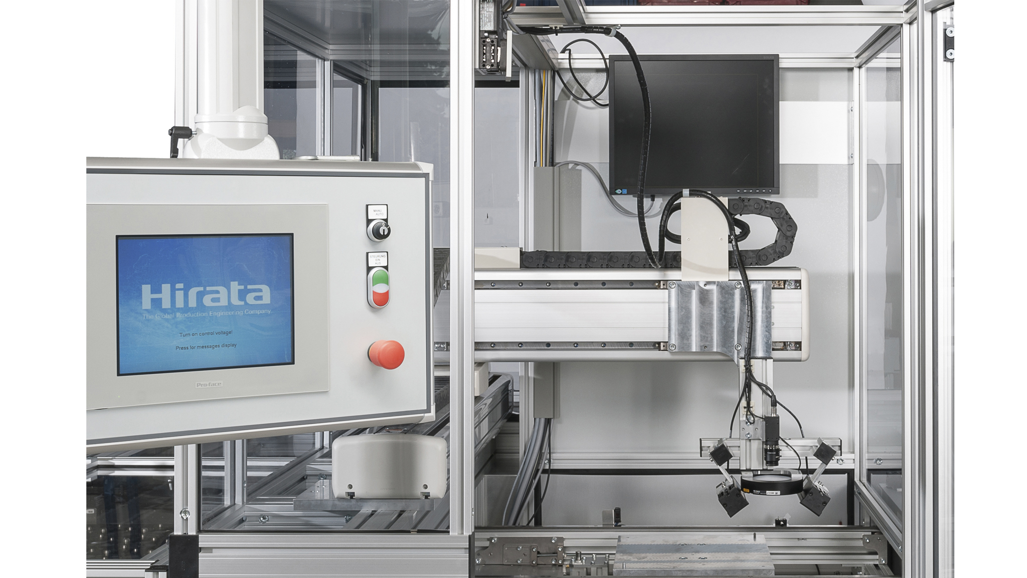 Standardized production cells for dosing and testing
