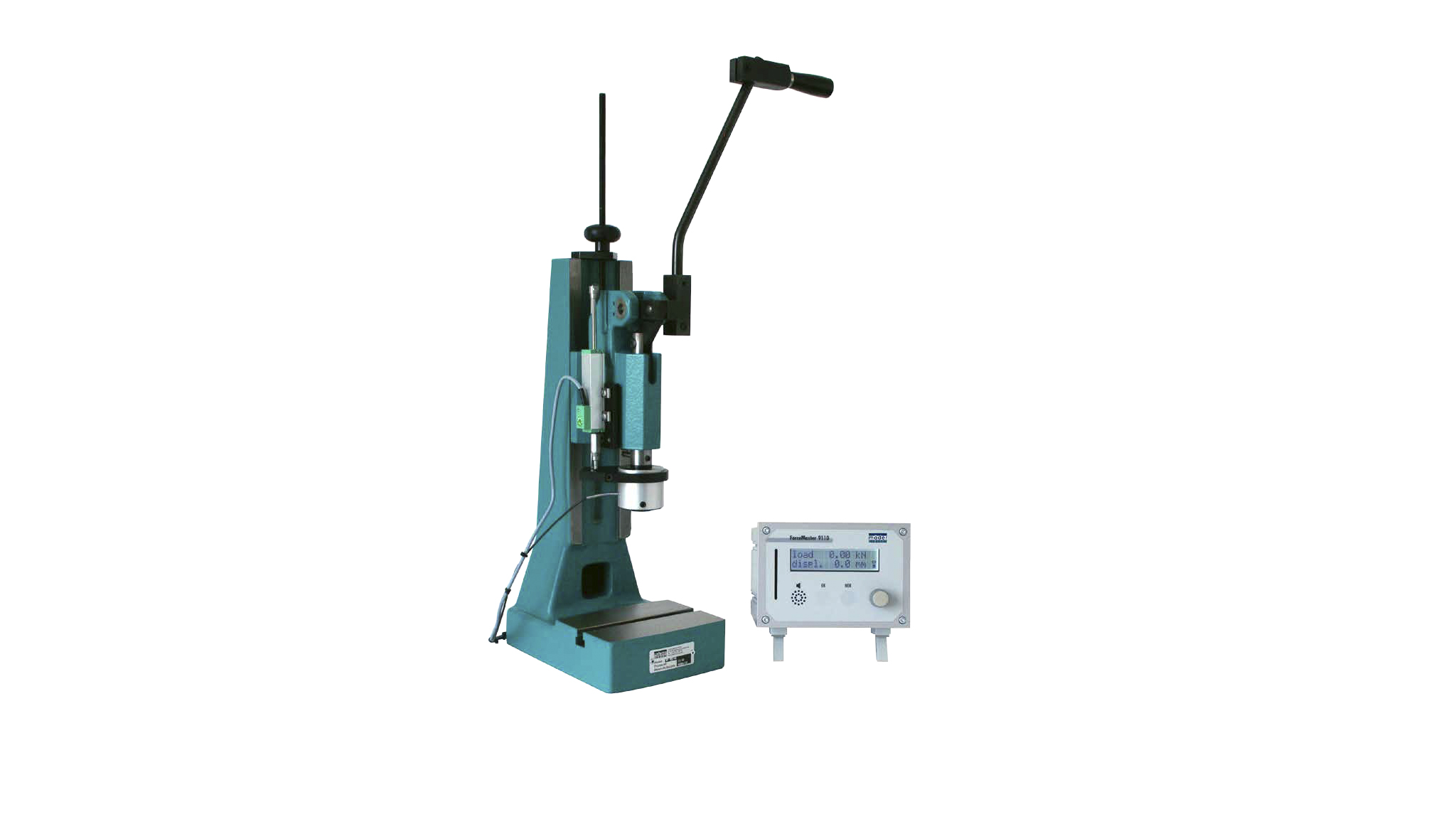 Process monitoring system for hand-lever presses TPC ForceMaster