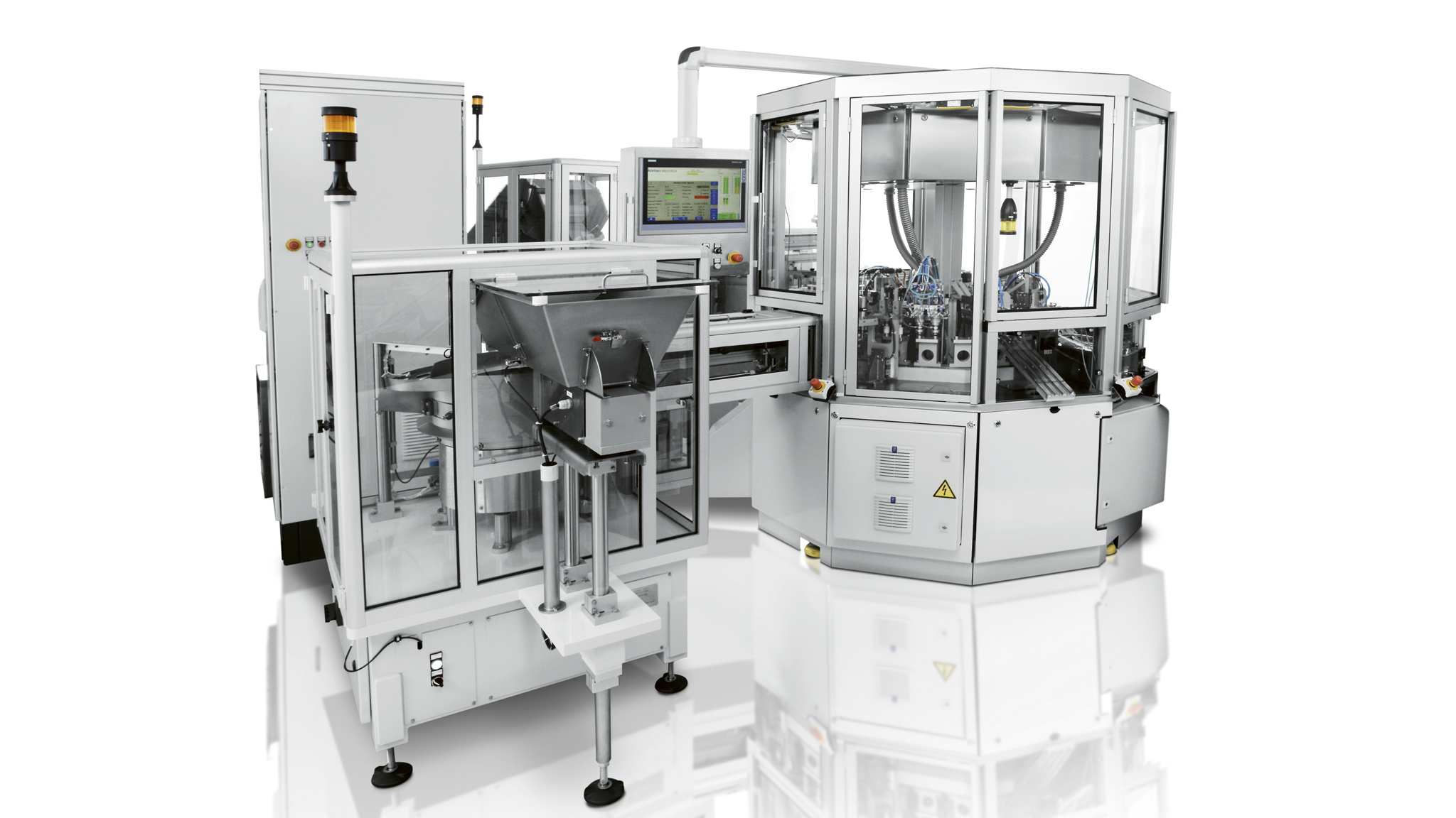 High-performance ring-stroke mounting systems ROTARY MED