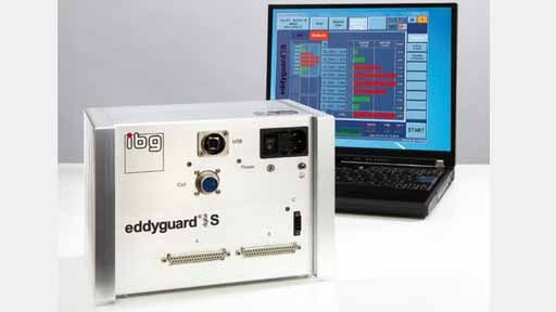 Microstructure testing devices for top-hat rail mounting eddyguard S (digital)