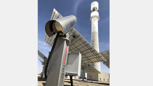 SPTC monitoring system for solar power tower plants