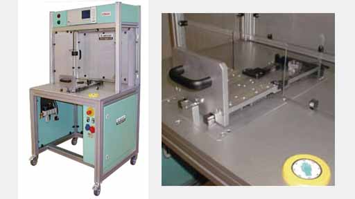 LTbase universal test benches Test workplaces for leak testing